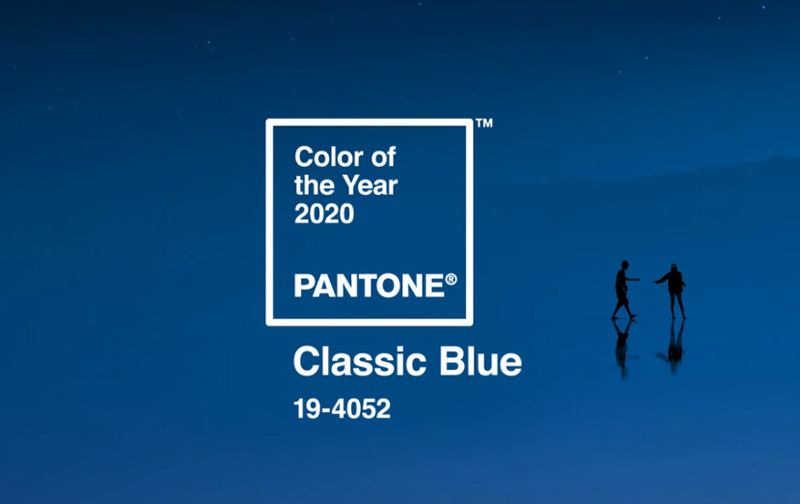 Pantone 2020 Color of the Year - Classic Blue