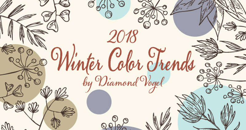 2018 Winter Color Trends