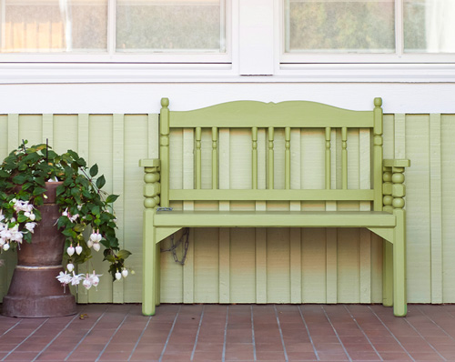 Envy (green) Spring Bench Idea