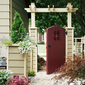Photo Courtesy Of: Better Homes \u0026 Gardens & Add Bang to Your Home Make Your Front Door Sparkle | Diamond Vogel Pezcame.Com