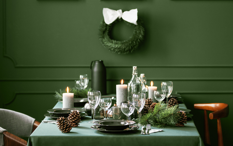 Holiday Countdown Dining Room Inspiration