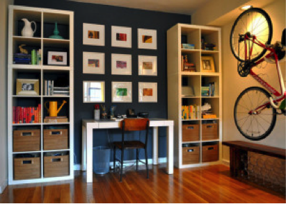 Organized apartment space from apartmenttherapy.com