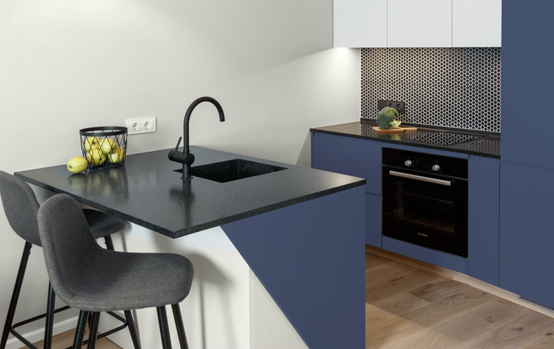 New Navy Kitchen Inspiration