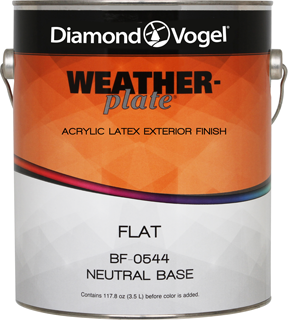 Weather-Plate Acrylic Latex Exterior Finish