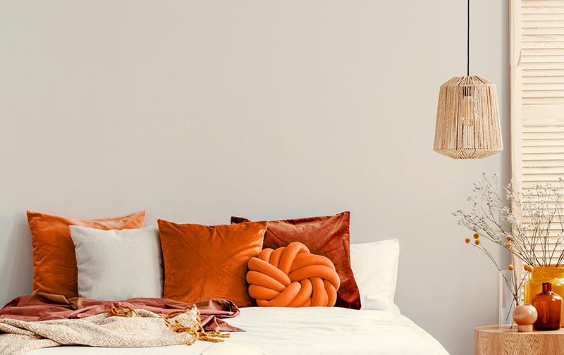 Summer Colors Bedroom Idea