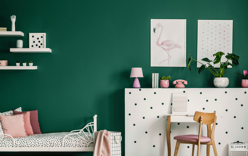 Small is Beautiful Feature Wall Inspiration