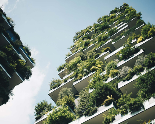 Think Green Plant Building Inspiration