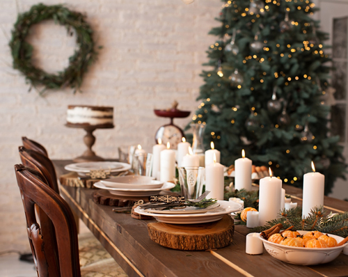 Winter Warmth Dinner Table Inspiration