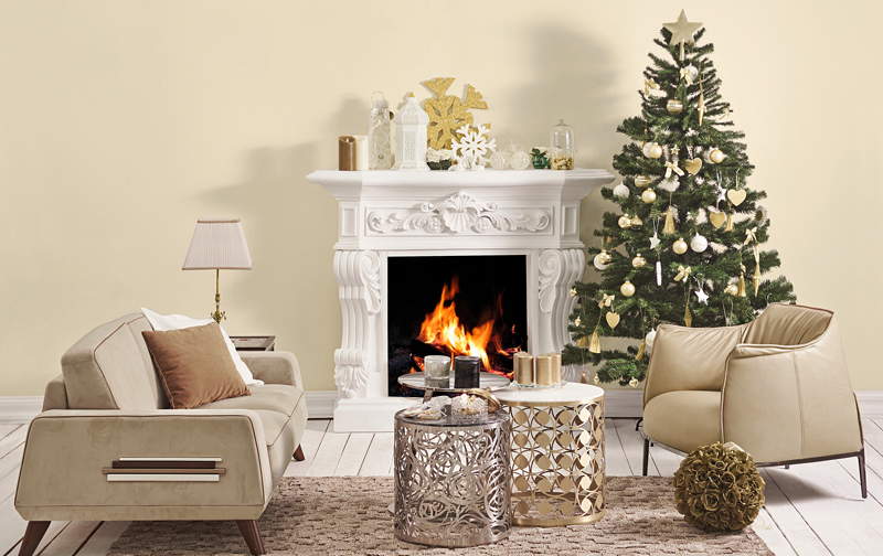 Winter Warmth Fireplace Inspiration